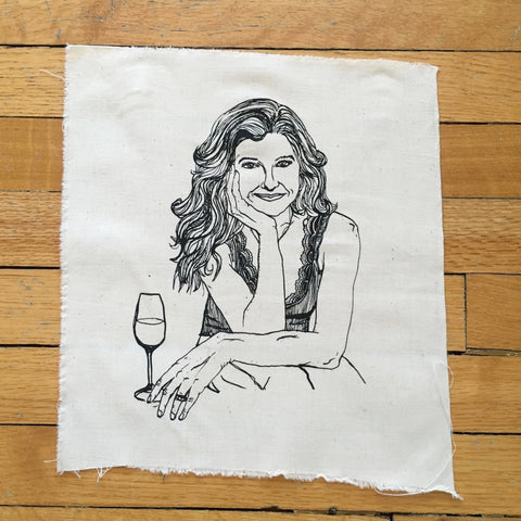 "Limited Edition silk screened 11""x12.25"" of ""What Would Tami Taylor Do?"""