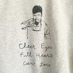 "Coach Talylor ""Clear Eyes, Full Hearts, Can't Lose"" sweatshirt"