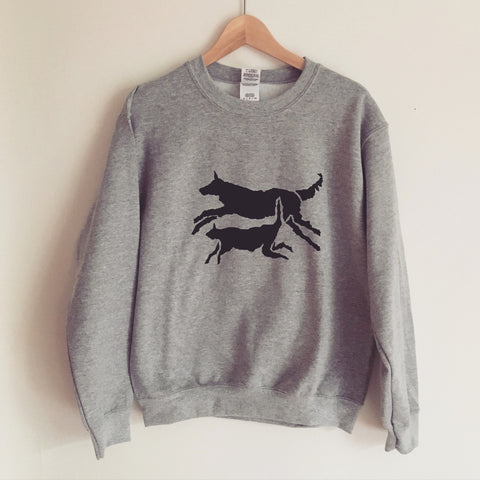 Limited Edition silk screened fur friends sweatshirt