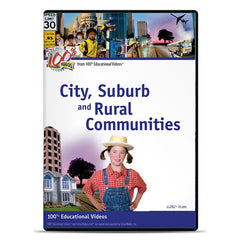City, Suburb, and Rural Communities