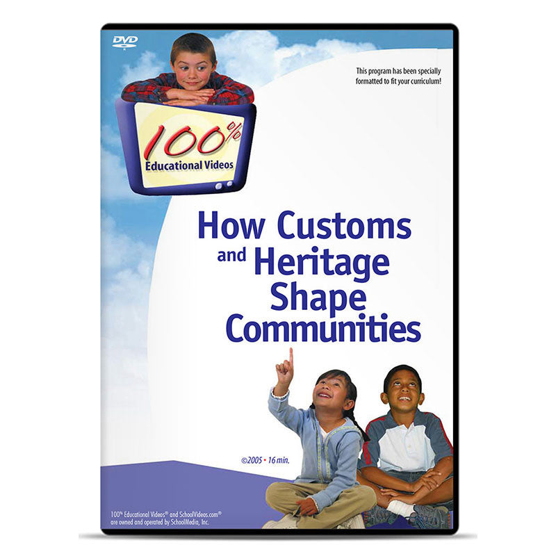 How Customs and Heritage Shape Communities