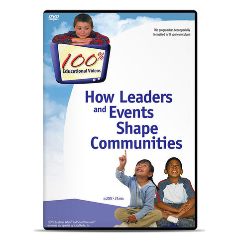 How Leaders and Events Shape Communities