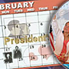 Presidents Day: Washington and Lincoln by SchoolMedia, Inc.