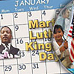Martin Luther King Jr. Day by SchoolMedia, Inc.