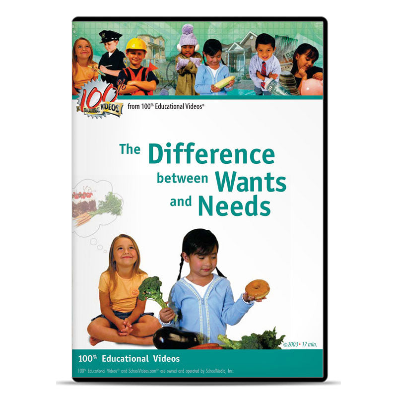 Difference Between Wants and Needs, The