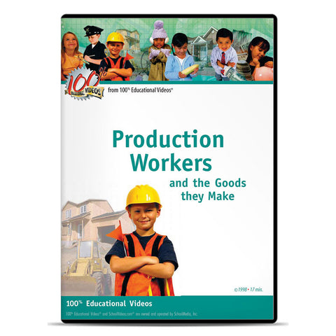 Production Workers: And the Goods They Make