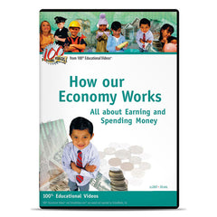 How our Economy Works: All about Earning and Spending Money