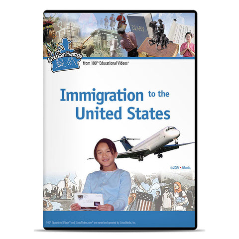 Immigration to the United States: American Heritage Series
