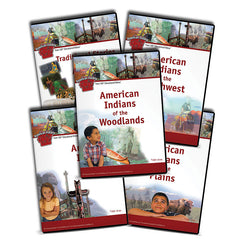 American Indians Series: The American Indians Series by SchoolMedia, Inc.