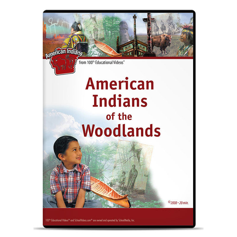 American Indians of the Woodlands: The American Indians Series