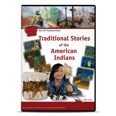 Traditional Stories of the American Indians: The American Indians Series