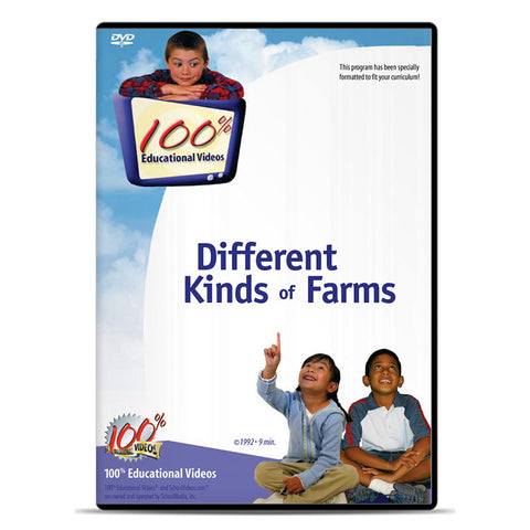 Different Kinds of Farms by SchoolMedia, Inc.