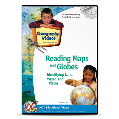 Reading Maps and Globes: Identifying Land, Water, Places