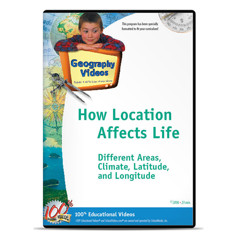 How Location Affects Life: Different Areas, Climate, Latitude and Longitude