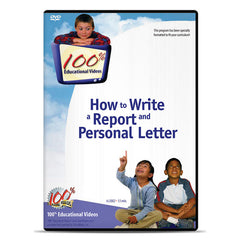 How to Write a Report and Personal Letter by Winters Productions