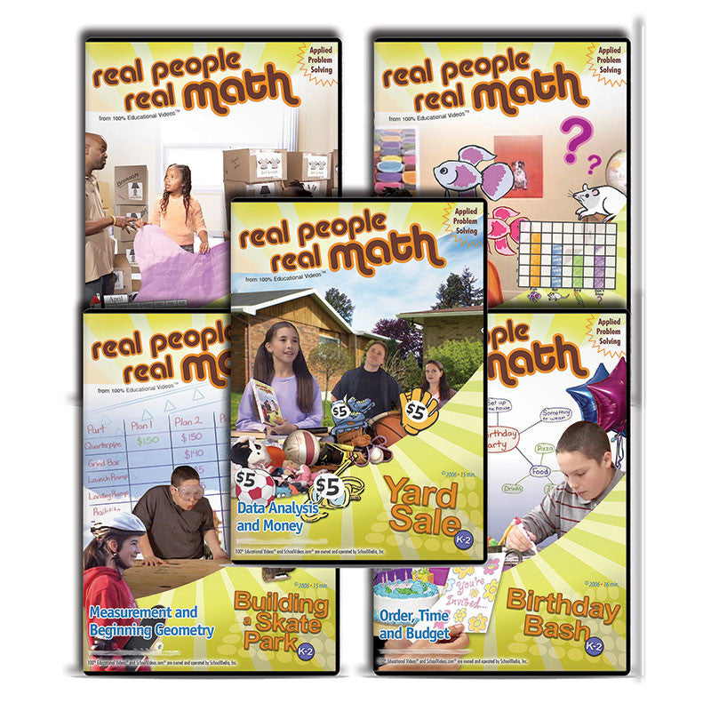 Real People, Real Math Series K-2: Applied Problem Solving