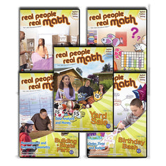 Real People, Real Math Series K-2: Applied Problem Solving by SchoolMedia, Inc.
