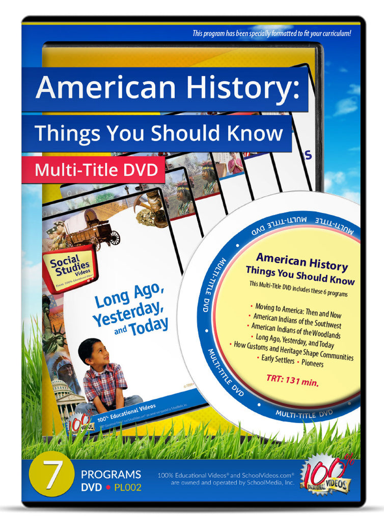 American History: Things You Should Know - Multi-Title DVD