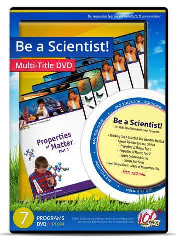 Be a Scientist! - Multi-Title DVD