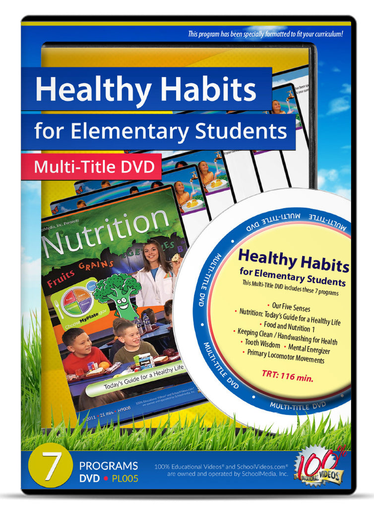 Healthy Habits for Elementary Students - Multi-Title DVD