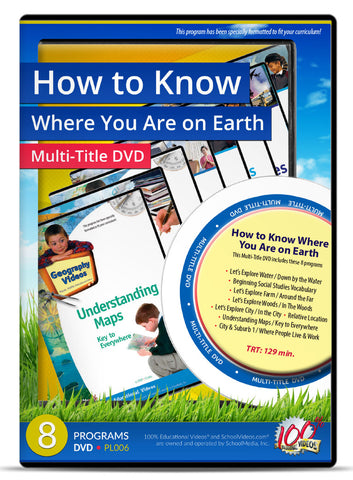 How to Know Where You Are on Earth - Multi-Title DVD