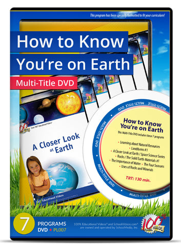 How to Know You're on Earth - Multi-Title DVD