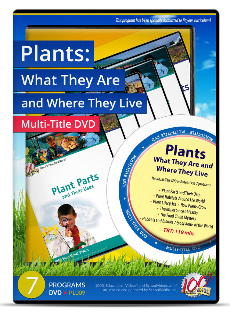 Plants: What They Are and Where They Live - Multi-Title DVD