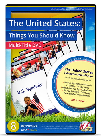 The United States: Things You Should Know - Multi-Title DVD
