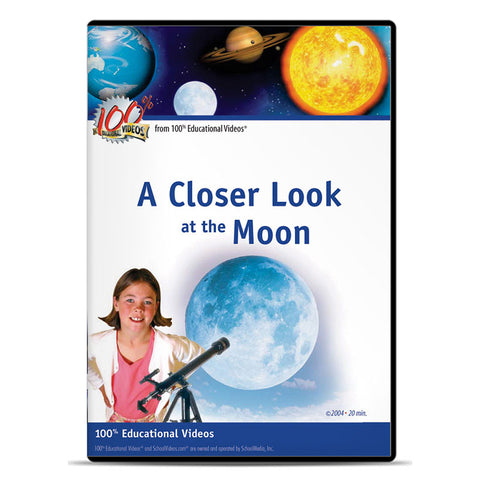 Closer Look at the Moon, A: Space Science Series