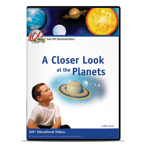 Closer Look at the Planets, A: Space Science Series