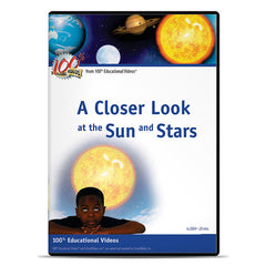 Closer Look at the Sun and Stars, A: Space Science Series