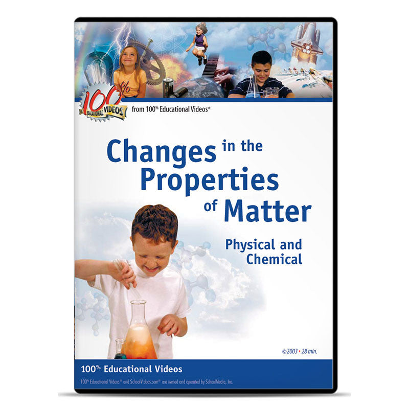 Changes in the Properties of Matter: Physical and Chemical