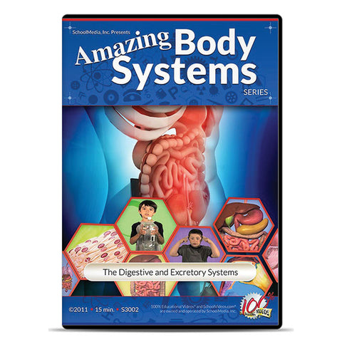The Digestive and Excretory Systems: Amazing Body Series