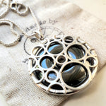 Hematite Bubbles necklace