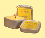 Beeswax & Soybean Wax Travel Candle
