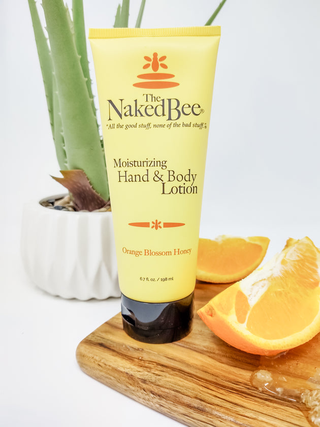 2.25 oz. Orange Blossom Honey Hand & Body Lotion - The Naked Bee