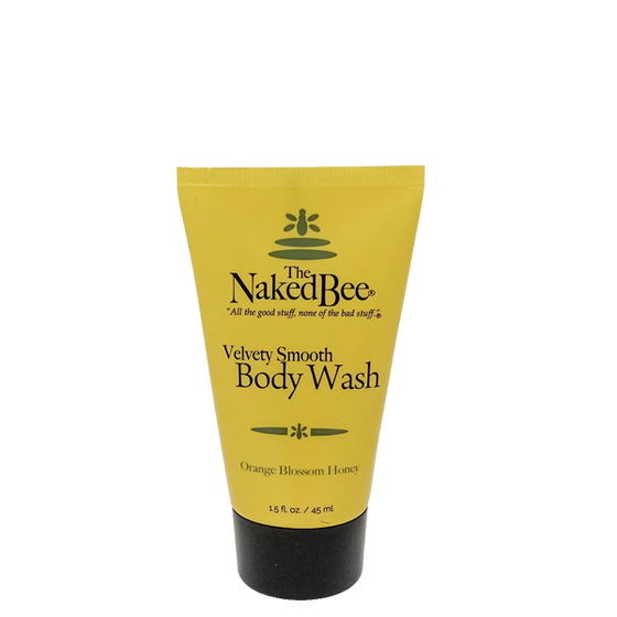 Velvety-Smooth Body Wash Set with 2 FREE Travel Body Washes! - The Naked Bee