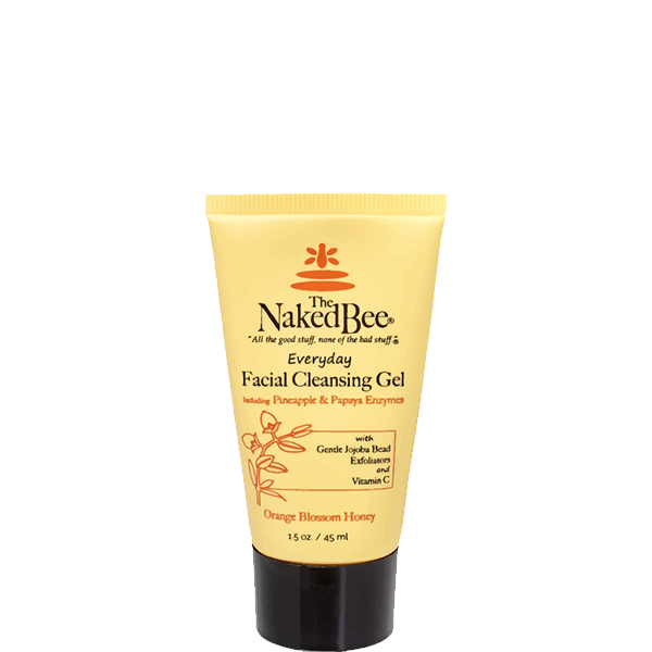Travel Facial Cleansing Gel 1.5 oz. - The Naked Bee