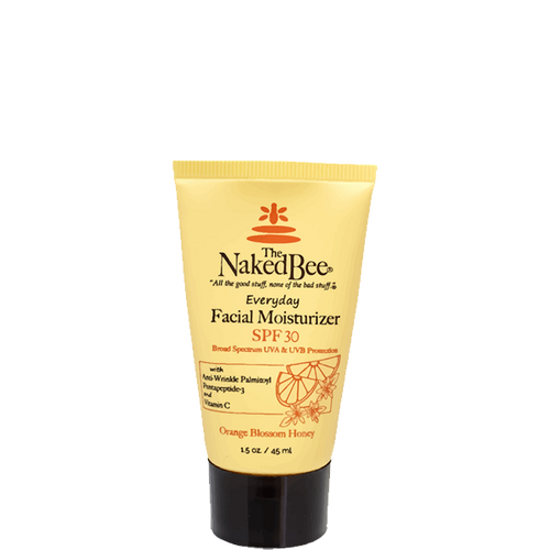 1.5 oz. Travel Orange Blossom Honey Facial Moisturizer with SPF 30 - The Naked Bee