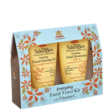 Everyday Facial Travel Kit with Vitamin C - The Naked Bee