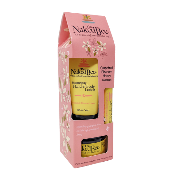 Grapefruit & Honey Gift Collection - The Naked Bee