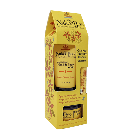 Orange Blossom Honey Gift Collection - The Naked Bee
