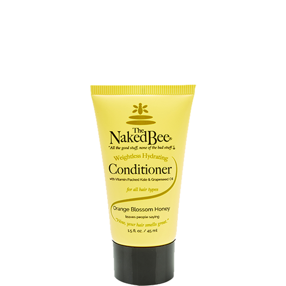 Travel Weightless Hydrating Conditioner 1.5 oz. - The Naked Bee
