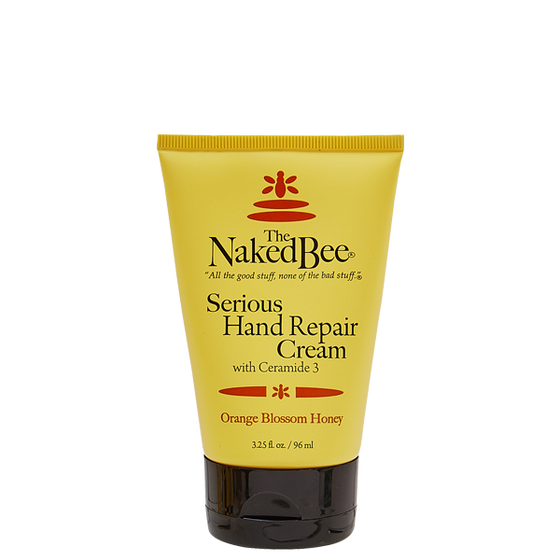 3.25 oz. Serious Hand Repair Cream in Orange Blossom Honey - The Naked Bee
