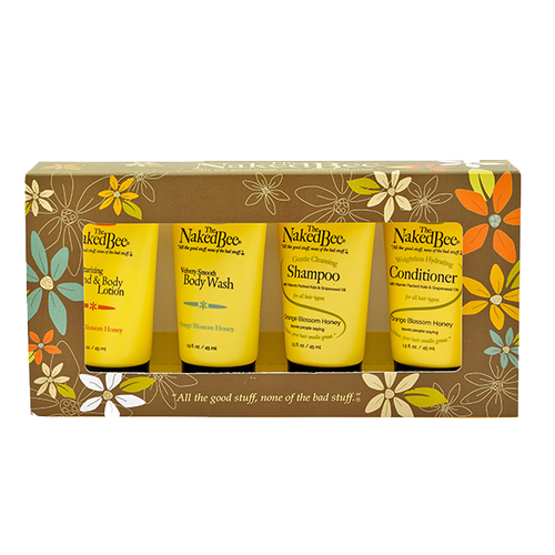 Amazon.com : The Naked Bee Everyday Facial Travel Kit with
