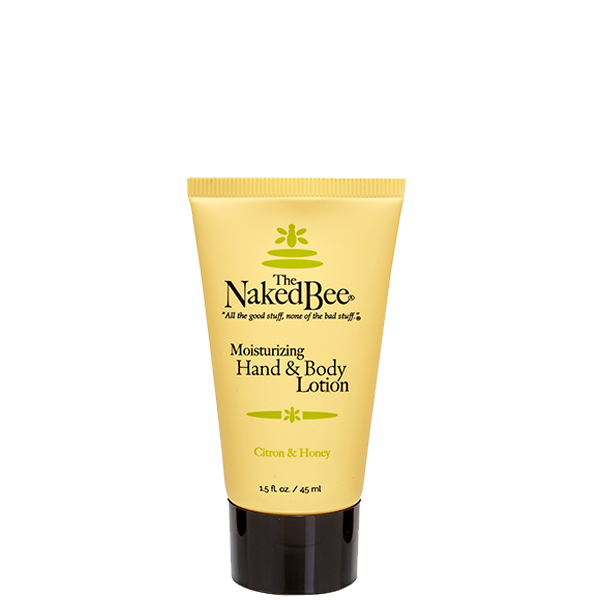 Travel Citron & Honey Lotion 1.5 oz. - The Naked Bee