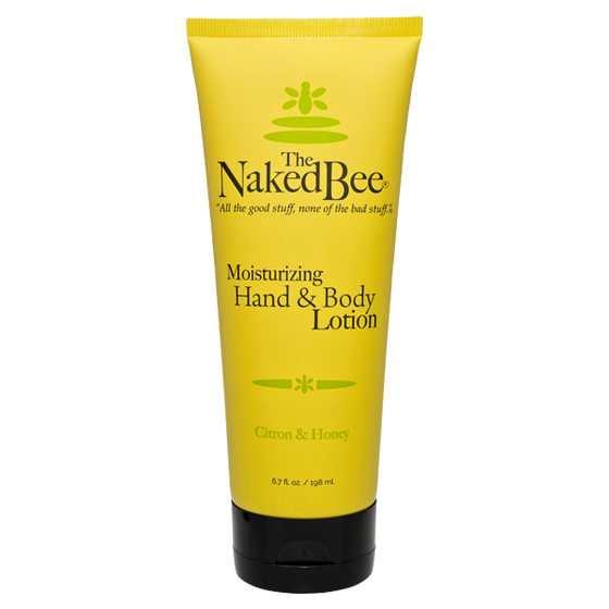 6.7 oz. Citron & Honey Hand & Body Lotion - The Naked Bee