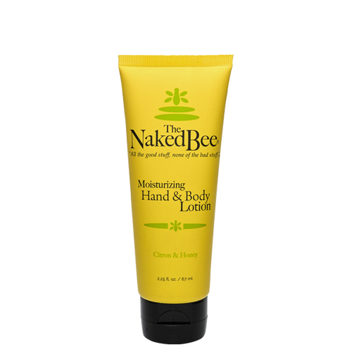 2.25 oz. Citron & Honey Hand & Body Lotion - The Naked Bee