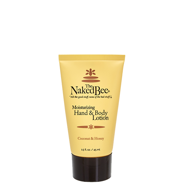 Travel Coconut & Honey Lotion 1.5 oz. - The Naked Bee