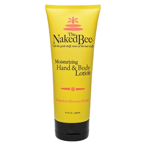 6.7 oz. Grapefruit Blossom Honey Hand & Body Lotion - The Naked Bee